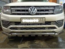 Защита бампера VWAM16-001 для Volkswagen Amarok