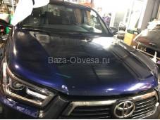 Оклейка виниловой пленкой Toyota Hilux с 2015г. выпуска