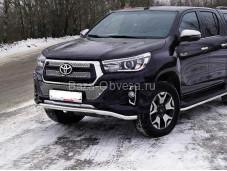 Защита передняя Toyhiluxexc 18-04 для Toyota Hilux с 2015г. выпуска