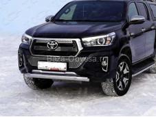 Защита передняя Toyhiluxexc 18-05 для Toyota Hilux с 2015г. выпуска
