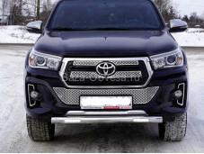 Защита передняя Toyhiluxexc 18-06 для Toyota Hilux с 2015г. выпуска