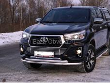 Защита передняя Toyhiluxexc 18-07 для Toyota Hilux с 2015г. выпуска