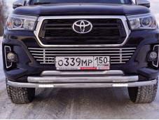 Защита передняя Toyhiluxexc 18-08 для Toyota Hilux с 2015г. выпуска