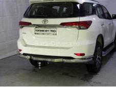 Защита заднего бампера TOYFORT17-34 для Toyota Fortuner