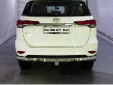 Защита заднего бампера TOYFORT 17-33 для Toyota Fortuner