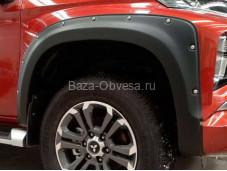 Расширители колесных арок Fender V5 для Mitsubishi L200 с 2015г. выпуска
