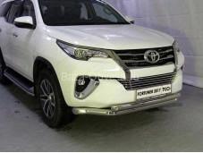 Защита переднего бампера TOYFORT 17-20 для Toyota Fortuner