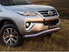 Защита переднего бампера TOYFORT-17.06 для Toyota Fortuner