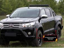 Расширители колёсных арок RT-060300 на Toyota Hilux с 2015г. выпуска