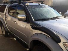 Шноркель черный для Mitsubishi L200 до 2015г. выпуска