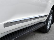Молдинги дверей PW003676-W для Land Cruiser 200 от 2016г.в.