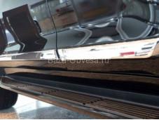 Молдинги боковых дверей CNT18-16XYJ-019 для Land Cruiser 200 от 2016г.в.