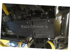"""Защита двигателя """"Шериф"""" на Toyota Hilux с 2011 до 2015 г. выпуска"""