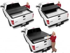 """Жесткая трехсекционная крышка кузова """"Extang Solid Fold"""" на Toyota Hilux с 2011 до 2015 г. выпуска"""