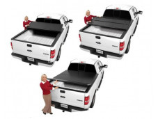 """Трех секционная крышка кузова """"Extang Solid Fold"""" на Nissan Navara"""