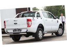 Защита заднего бампера ступень D76 на Ford Ranger с 2012г. выпуска