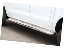 Пороги D60 с листом для Ford Ranger от 2012г. выпуска