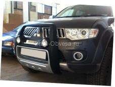 "Защита переднего бампера ""Atlantic"" для Mitsubishi l200 Triton"