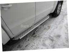 "Пороги AB004 ARTEMIS ""Doga Fiber"" на Ford Ranger с 2007 до 2011г. выпуска"