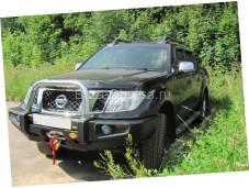 Передний бампер усиленной конструкции для Nissan Navara