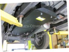 """Защита топливного бака """"Мотодор"""" на Toyota Hilux с 2011 до 2015 г. выпуска"""