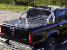 "Алюминиевая крышка кузова MERXCL18-53 Black ""ТСС"" на Mercedes-Benz X-Class"