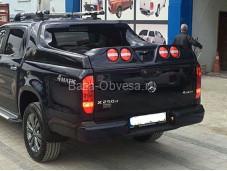 """Крышка кузова Grandbox VIP """"Doga Fiber"""" на Mercedes-Benz X-Class"""
