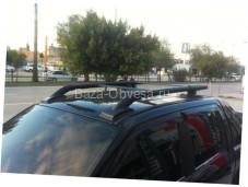 """Рейлинги из алюминия """"Maxport black"""" для Ford Ranger"""