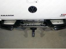 "Накладка на задний бампер VWAMAR17-49 ""TCC"" на Volkswagen Amarok"