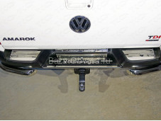 "Накладка на задний бампер VWAMAR17-51 ""TCC"" на Volkswagen Amarok"
