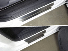 "Накладки на внутренние пороги VWAMAR17-40 ""TCC на Volkswagen Amarok"