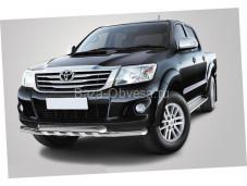 Защита переднего бампера FE-24 для Toyota Hilux до 2014г. выпуска