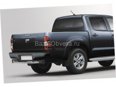 Защита заднего бампера ступень D76 для Toyota Hilux до 2015г. выпуска