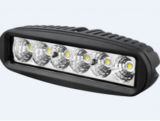 """Фара SM-6180F LED """"РИФ"""" на Isuzu D-MAX"""