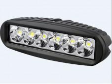 """Фара SM-6018-RSA LED """"РИФ"""" на Isuzu D-MAX"""