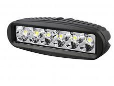 """Фара SM-6180P LED """"РИФ"""" на Isuzu D-MAX"""