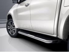 Пороги оригинальные на Mercedes-Benz X-Class
