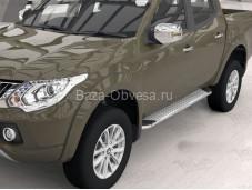 """Пороги Opal """"Can Otomotiv"""" на Fiat Fullback с 2015г. выпуска"""
