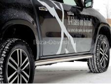 "Пороги ""METEC"" на Mercedes-Benz X-Class"
