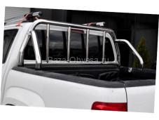 "Защитная дуга 60 мм в кузов ""Afcarfiber"" на Toyota Hilux с 2011 до 2015г. выпуска"