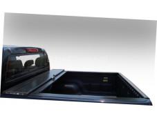 """Алюминиевая крышка кузова Rollback """"Afcarfiber"""" на Nissan Navara"""