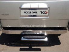 """Овальная подножка UAZPIC2016-30 """"TCC"""" на УАЗ"""