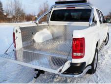 """Вкладыш в кузов из алюминия """"ТСС"""" для Volkswagen Amarok"""