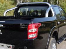 """Защитная дуга в кузов MITL20015-16 """"TCC"""" на Mitsubishi L200 NEW с 2015г. выпуска"""
