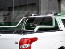 """Защитная дуга в кузов RB027 ABEN CHROME """"ARP"""" на Mitsubishi L200 NEW с 2015г. выпуска"""