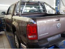 """Защитная дуга в кузов из нержавеющей стали """"Can Otomotiv"""" на Volkswagen Amarok"""