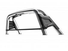 """Защитная двойная дуга в кузов из нержавеющей стали """"Keko"""" на Volkswagen Amarok"""