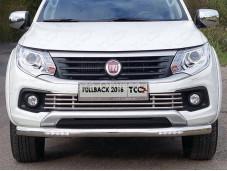 """Защита переднего бампера FIAFUL16-05 """"TCC"""" на Fiat Fullback с 2015г. выпуска"""