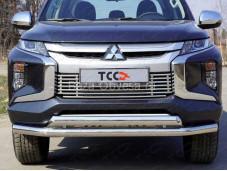 """Защита переднего бампера MITL20019-40 """"TCC"""" на Mitsubishi L200"""