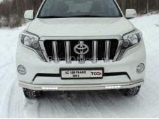 """Защита переднего бампера TOYLC15013-07 """"TCC"""" на Toyota Prado 150 с 2013г. выпуска"""